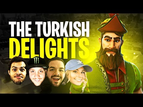 THE TURKISH DELIGHTS!! (ft. Marcel, CouRage & Electra) | Fortnite Battle Royale Highlights #132