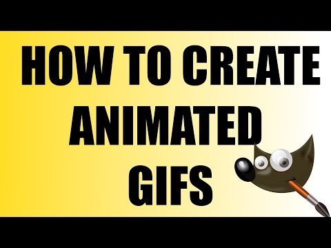 How to Create Animated GIF ( GIMP ) | #47