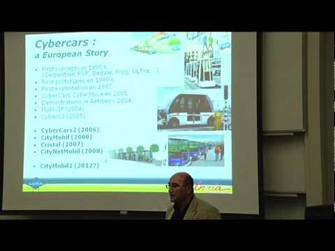 RI Seminar: Dr. Fawzi Nashashibi: Towards true autonomous mobility services in cities