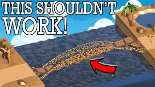 Making an ENGINEER think OUTSIDE THE BOX in Poly Bridge 2!