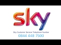 0844 448 7500 Is Sky Customer Service Contact Number and Helpline