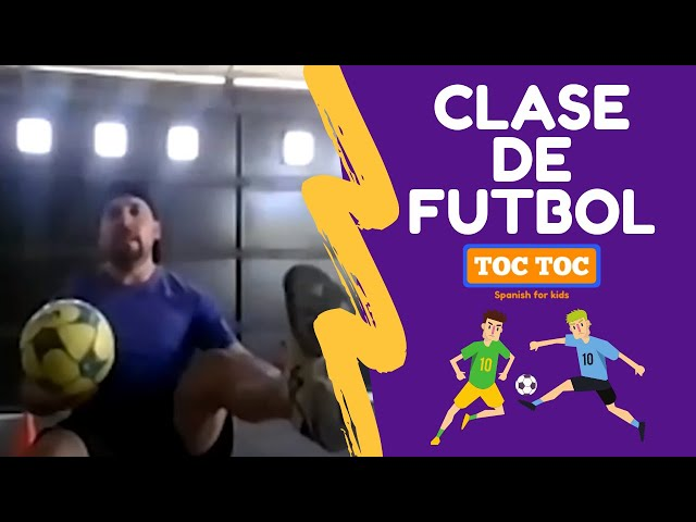 Clase de Fútbol ⚽ - Toc Toc Spanish Bilingual Summer Camp ☀️