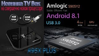 Новинка Игрового TV Box A95X Plus на совершенно новом процессоре S905Y2 Обзор