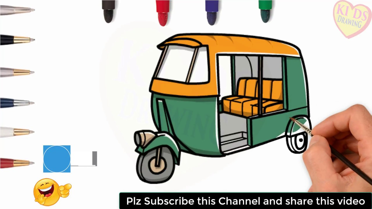 How To Draw Cng For Kids With Kids Drawing Youtube