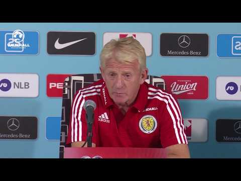 Gordon's Slovenia Press Conference