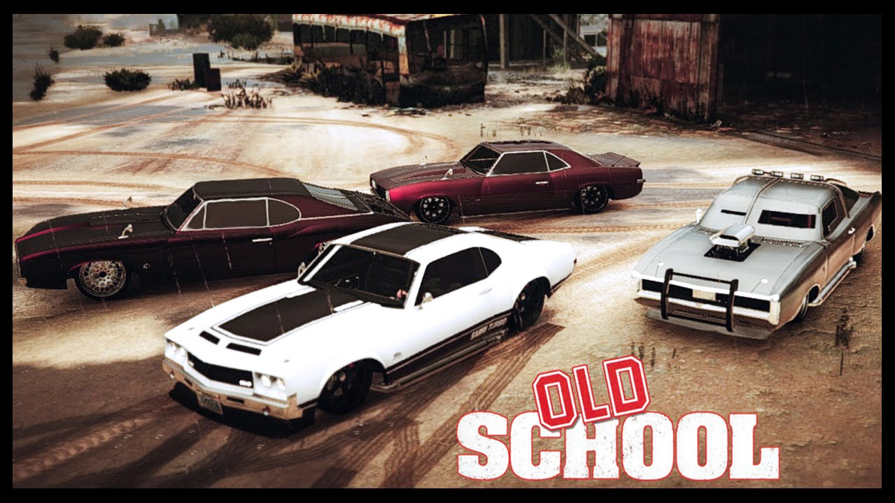 GTA Online OLD SCHOOL THEMED CAR SHOW Xbox One PC YouTube - Cool xbox cars
