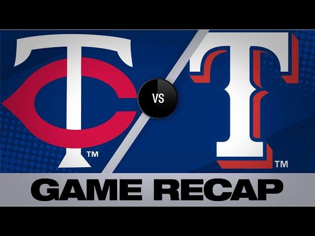 Polanco's 3-run triple propels Twins to win | Twins-Rangers Game Highlights 8/18/19