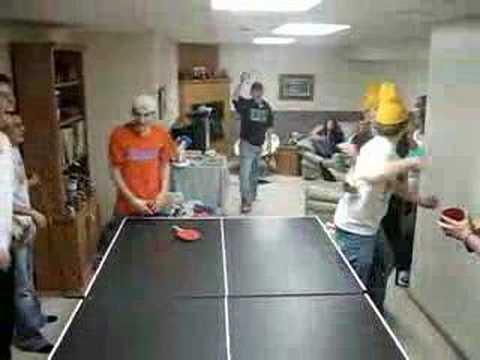 """Insane group ping pong"""