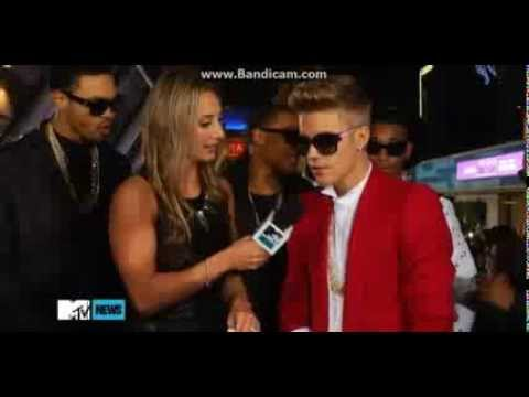Justin Bieber Interview On The Purple Carpet - Believe Premiere, LA 2013