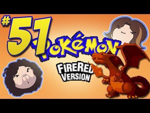 Pokemon FireRed: Better Not - PART 51 - Game Grumps