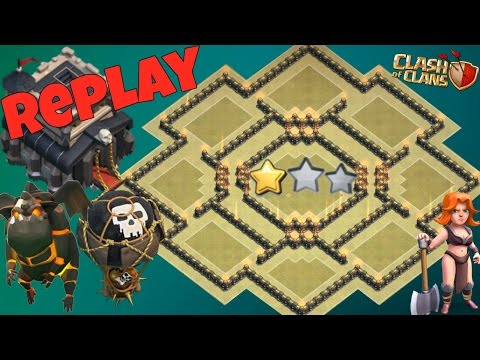 Best Th9 War Base 2018 Anti 2 Star With Replay Anti Lavaloon Anti Valkyrie Anti 3 Star Anti Gowipe