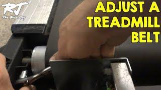 How Adjust Treadmill Belt
