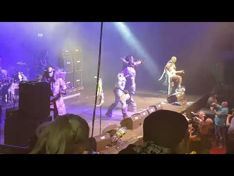Lordi live  Gesellwind  2017 Nalle ist darbei