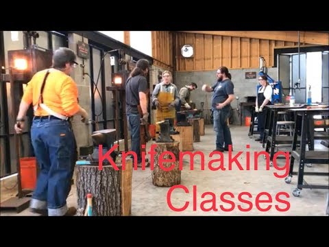 Bladesmithing Classes & Knifemaking Lessons Can Shave Years Off Of Your Learning Curve!