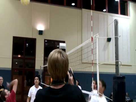 UCSB Gauchosplay 1st intramural volleyball match game
