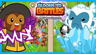 Bloons TD Battles - MAGIC ICE TOWER! - New Best Ice Tower Strategy BTD Battles
