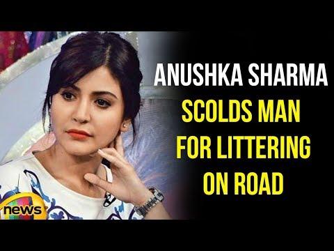Virat Kohli Shared A Video Of Anushka Sharma Insists A Man For Littering On Road | Mango News
