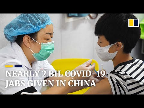 China administers nearly 2 billion Covid-19 vaccine doses as Delta variant appears under control