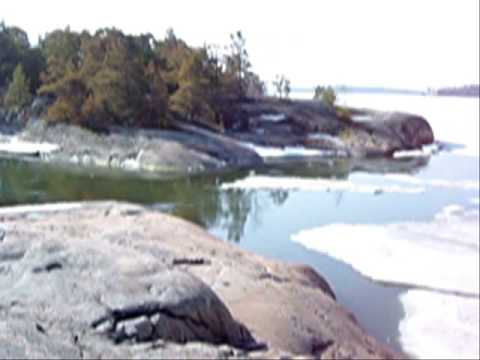Winter turns to summer in Helsinki coast area  2003