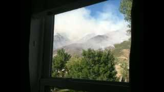 Alpine Quail Fire - Most chocking pictures
