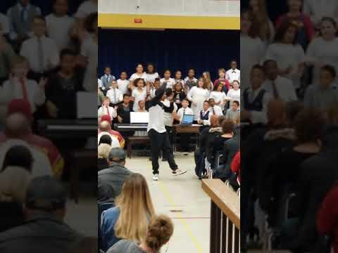 "Obed-Edom Performs Christmas Single  ""Merry Christmas To You"" ft. The Cople Elementary School Choir"