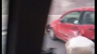 Chile Earthquake Sends Rocks Tumbling Into Car