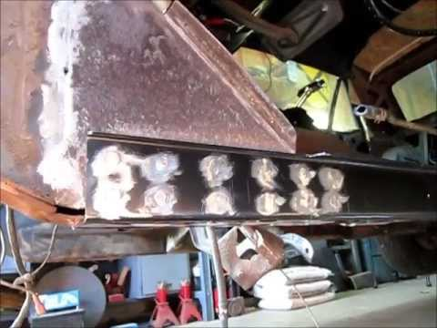 1968 Mustang Torque Box Installation Quot Jade Quot Part 5 Youtube