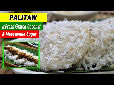 how to cook puto palitaw panlasangpinoy