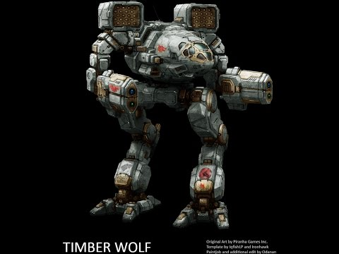 MechWarrior Online по-русски обзор на Timber wolf