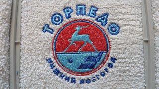 Вышивка логотипа х/к