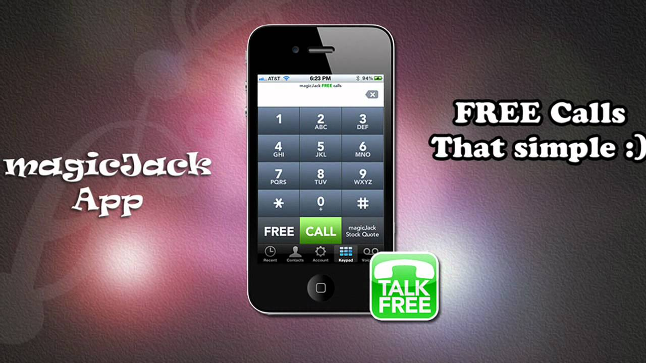 Free Magic Jack For Cell Phone