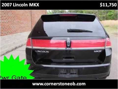 2007 lincoln mkx used cars olive branch ms youtube. Black Bedroom Furniture Sets. Home Design Ideas