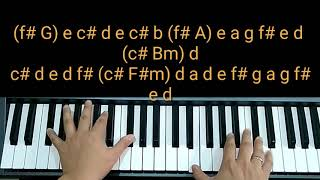 Piano Cover Waktu Tuhan by Maria NDC Worship Chord Do=D