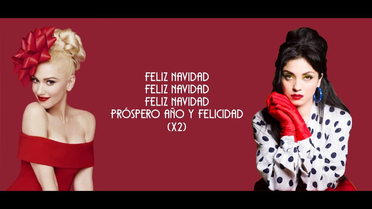 Placido Domingo Feliz Navidad.Gwen Stefani Ft Mon Laferte Feliz Navidad Letra