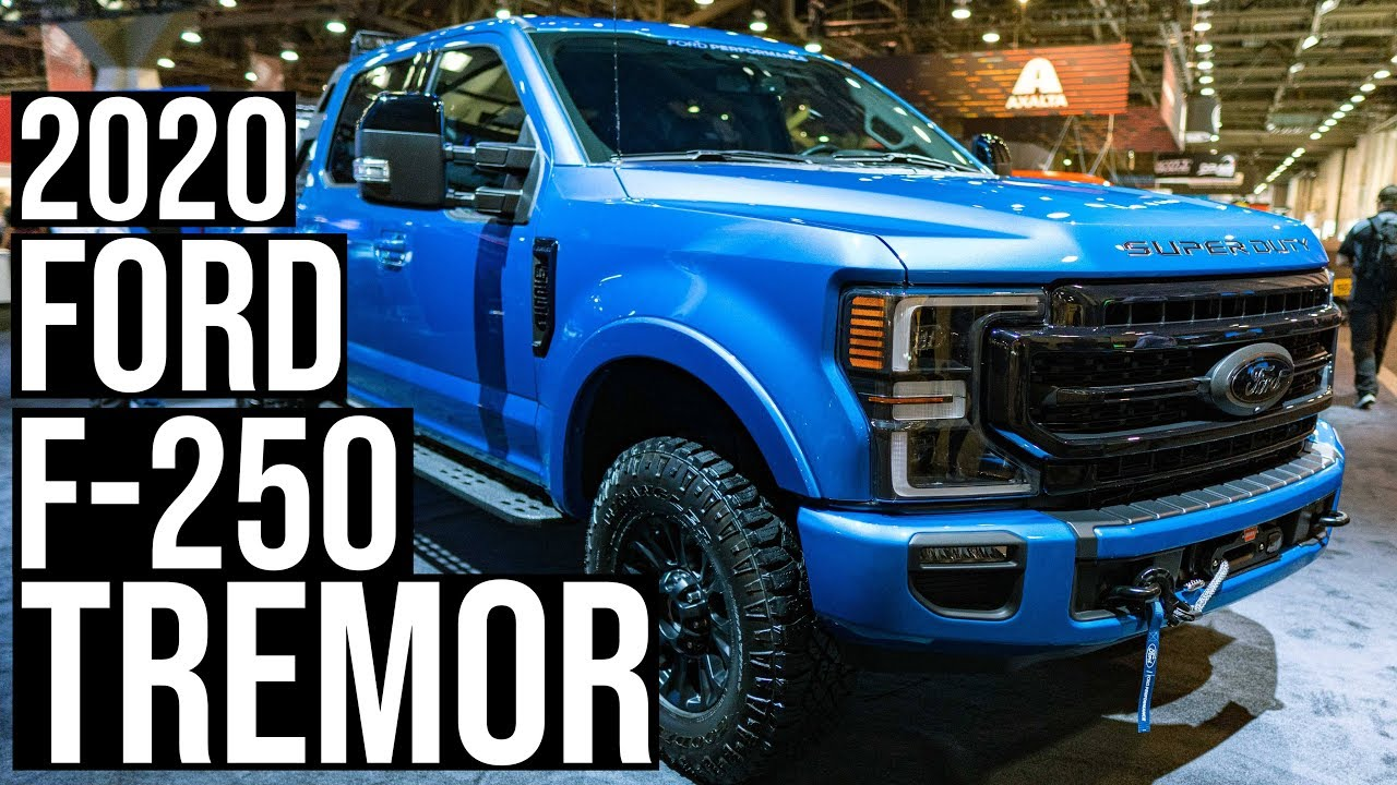 Video Up Close With The 2020 Ford F 250 Tremor Off Road Package