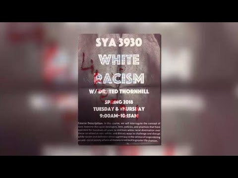 "Police to guard ""White Racism"" class at Florida university"