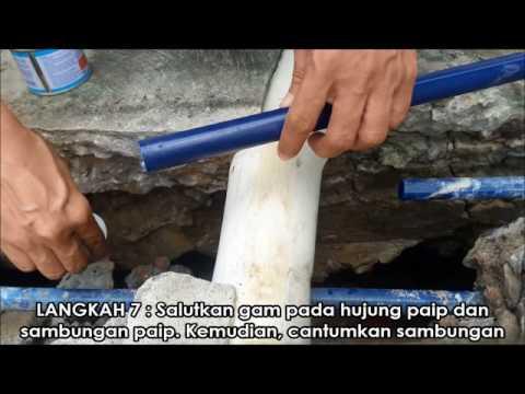 Cara membaiki paip yang bocor #Mykomunitikreatif #mykif