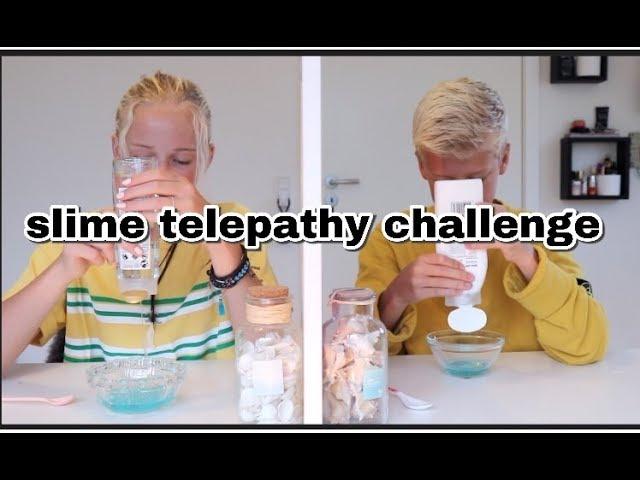 Slime telepathy challenge  // ft: Oscar Krogh
