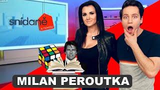 Kouzelnice Kelly a Milan Peroutka ve Snídani s Novou