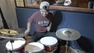 Daniel Diaz Vidal drum kit  child