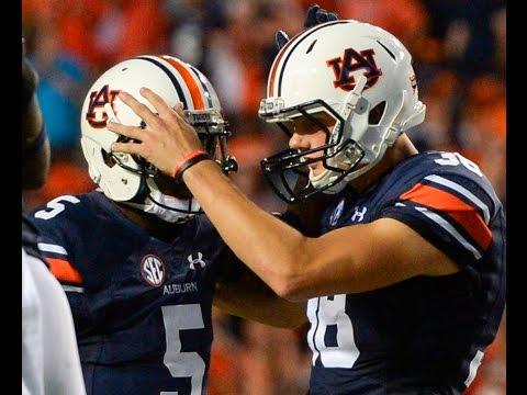 Auburn kicker Daniel Carlson: Sept. 13, 2016