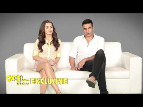EXCLUSIVE interview with Akshay Kumar and Amy Jackson | Singh Is Bliing | SpotboyE