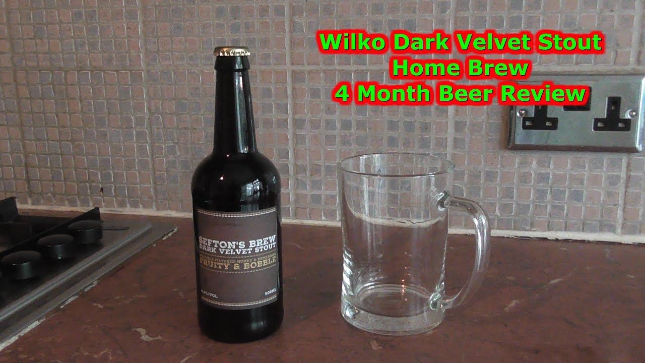 wilko dark velvet stout 4 month tasting day 39 home brew. Black Bedroom Furniture Sets. Home Design Ideas