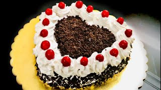 Black Forest Cake Recipe without Oven  Homemade Black Forest Cake  Anisha Recipe