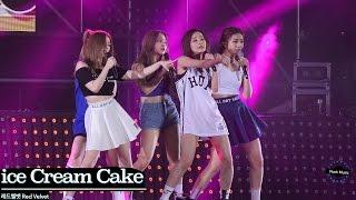 레드벨벳 Red Velvet [4K 직캠]Ice Cream Cake@20160710 Rock Music