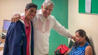 Encuentro con paciente del Hospital Rural Guadalupe Tepeyac en Chiapas