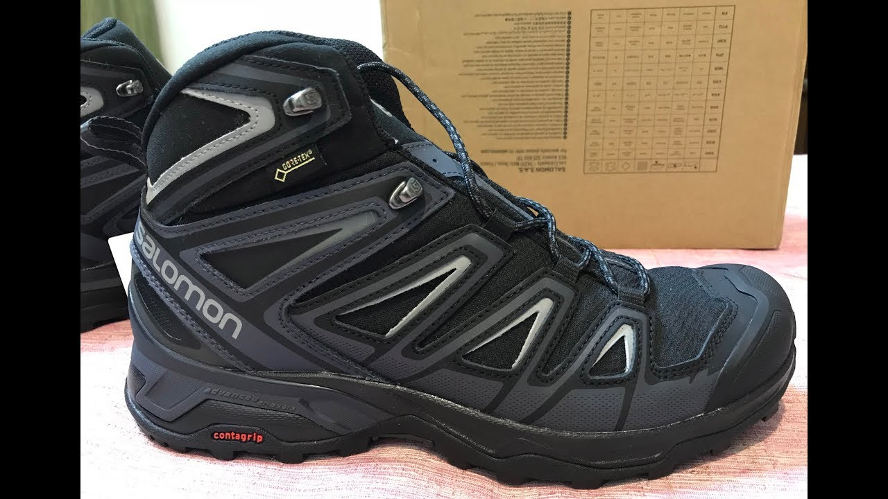 best loved 50782 004c4 Salomon X Ultra 3 Mid GTX Unboxing - First Look