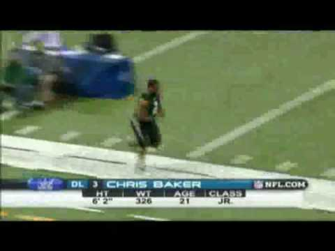 Chris Baker - NFL Combine 40 Yard Dash