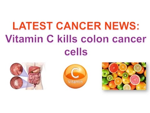 Vitamin C Kills Colon Cancer Cells By Cancer Education And Research Institute Youtube