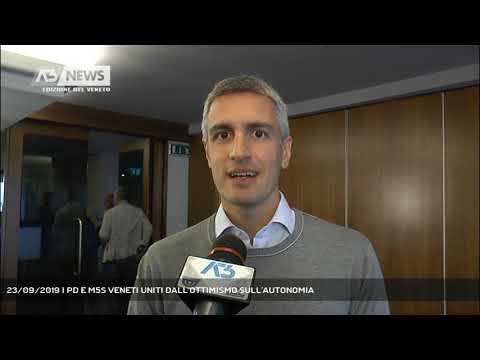 23/09/2019 | PD E M5S VENETI UNITI DALL'OTTIMISMO ...